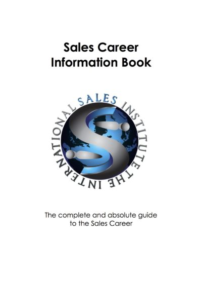 SalesCareerInformationBook-FrontCover
